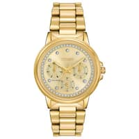 Citizen Women's FD2042-51P Eco-drive ' Nighthawk Gold-Tone Stainless Steel Watch - GOLD