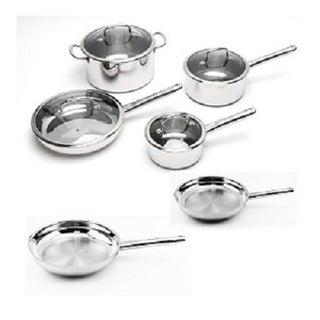 BergHOFF EarthChef Boreal Stainless Steel 10-piece Cookware Set