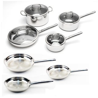 BergHOFF EarthChef Boreal Stainless Steel 11-piece Cookware Set