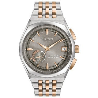 Citizen Eco-Drive Men's Satellite Wave GPS Two-Tone Stainless Steel Watch CC3026-51H