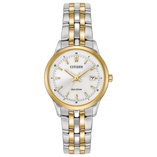 Citizen Women's EW2404-57A Eco-Drive Two-Tone Stainless Steel Watch