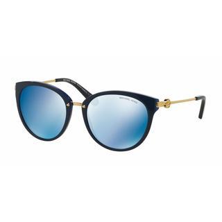Michael Kors Women MK6040F 313455 Plastic Metal Round Sunglasses