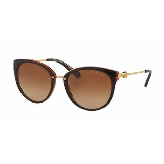 Michael Kors Women MK6040F 313013 Plastic Metal Round Sunglasses