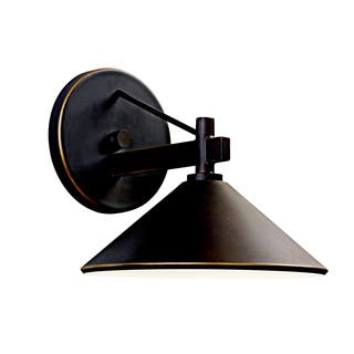 Kichler Lighting Ripley Collection 1-light Olde Bronze Indoor/Outdoor Wall Sconce|https://ak1.ostkcdn.com/images/products/13327597/P20032286.jpg?impolicy=medium