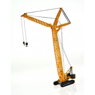 Yellow Die-cast Scaled Adjustable Crawler Crane