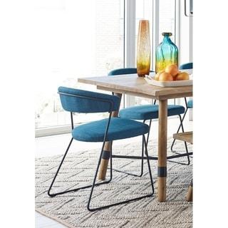 Aurelle Home Ada Italian Dining Chair (Set of 2)