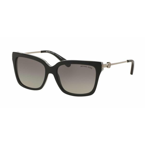45427e7aea6 Shop Michael Kors Women MK6038 ABELA I 312911 Black Metal Square Sunglasses  - Free Shipping Today - Overstock - 13327658