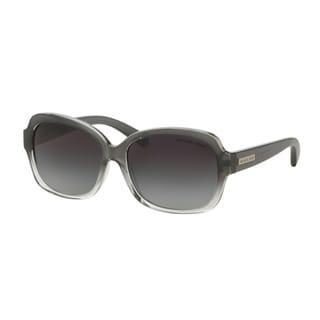 Michael Kors Women MK6037 MITZI III 312411 Black Plastic Square Sunglasses