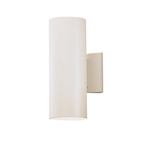 Kichler Lighting Contemporary 2-light White Indoor/Outdoor Wall Sconce