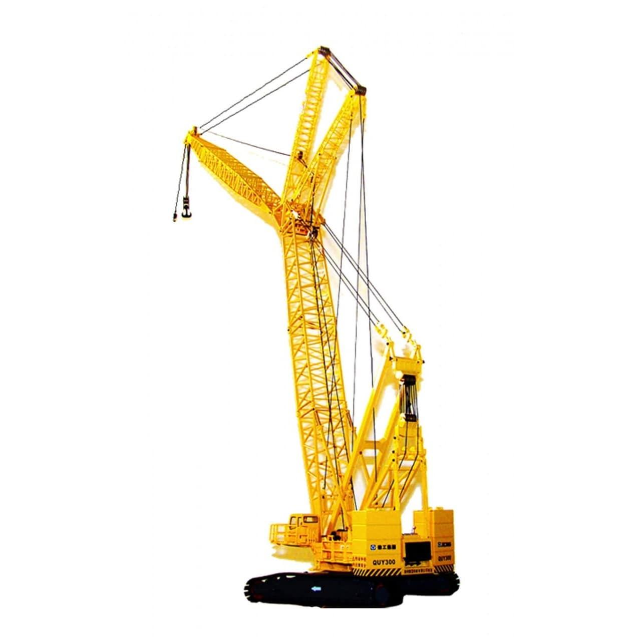 Yellow 300-ton Model Crawler Crane (Yellow)