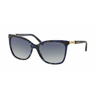 Michael Kors Women MK6029F 31094L Havana Plastic Square Sunglasses