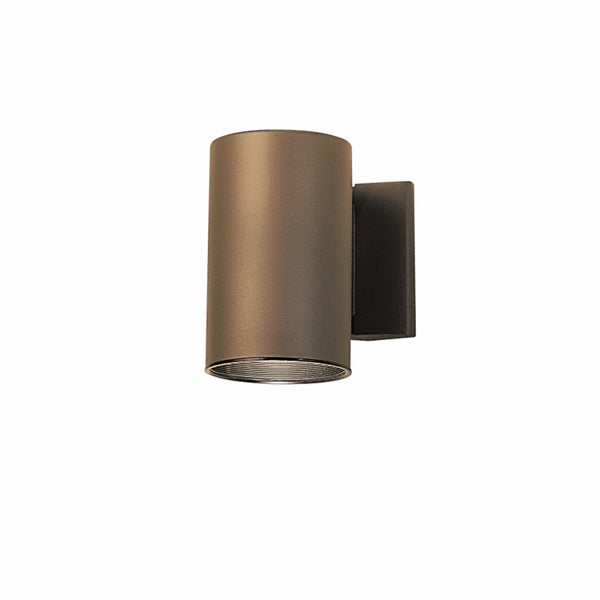 Kichler Lighting Contemporary 1-light Architectural Bronze Indoor/Outdoor Wall Sconce - Free ...
