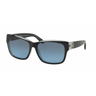 Michael Kors Women MK6003F 300117 Black Plastic Square Sunglasses