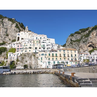 Stewart Parr 'Amalfi Coast in Italy-01 16x20 Photograph' Unframed Photo Print
