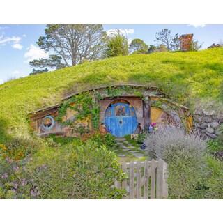 Stewart Parr 'Bilbo Baggin's House in the Hobbit Shire' Unframed Photo Print (11x14)