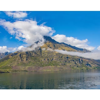 Stewart Parr 'Lake Wakatipa, Queenstown, New Zealand 11x14 Photograph' Unframed Photo Print