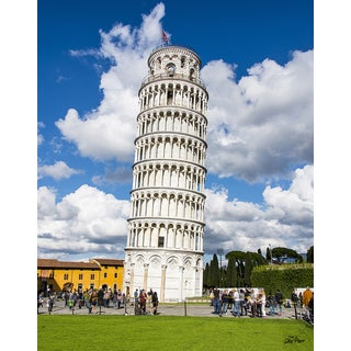 Stewart Parr 'Leaning Tower of Pisa - Pisa Italy' 16-inch x 20-inch Unframed Photo Print