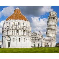 Stewart Parr 'Leaning Tower of Pisa' Multicolored Unframed Photo Print
