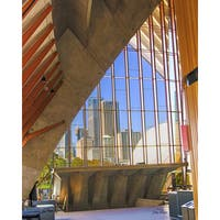 Stewart Parr 'Looking at the Sydney, Australia City from Inside the Sydney Opera House' Unframed Photo Print