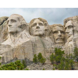 Stewart Parr 'Mount Rushmore Standard' Unframed Photo Print