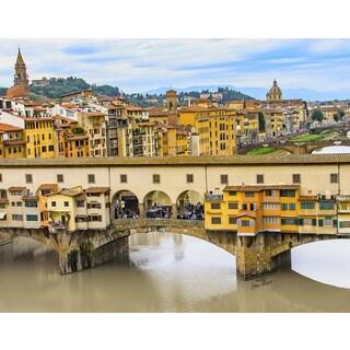 Stewart Parr 'Ponte Vecchio or Old Bridge (Close Up of Bridge Life) Florence, Italy' Unframed Photo Print