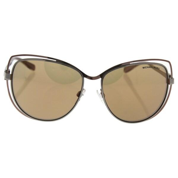 bb757e9519 Michael Kors Women MK1013 AUDRINA I 1121R1 Pink Metal Cat Eye Sunglasses