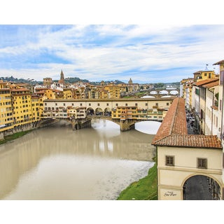 Stewart Parr 'Ponte Vecchio or Old Bridge - Florence, Italy' Unframed Photo Print