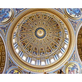 Stewart Parr 'St. Peter's Basilica Main Dome From Inside Cathedral' Unframed Photo Print