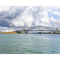 Stewart Parr 'Sydney Opera House and Sydney Harbor Bridge' Unframed Photo Print