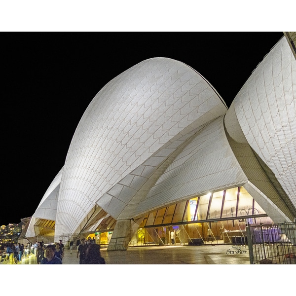 Stewart Parr 'Sydney Opera House at Night' Unframed Photo Print