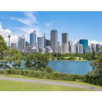 Stewart Parr 'Syndey Australia City Skyline' Unframed Photo Print