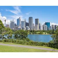 Stewart Parr 'Syndey Australia City Skyline' Photograph Unframed Photo Print