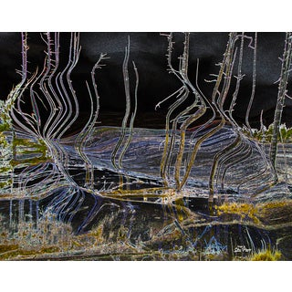 Stewart Parr 'Yellowstone National Park Surreal Hot Spring' Unframed Photo Print