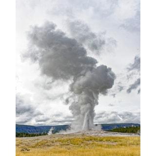 Stewart Parr 'Yellowstone Old Faithful Geyser' Unframed Photograph Print