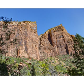 Stewart Parr 'Zion National Park Climbing Bluffs' Unframed Photograph Print