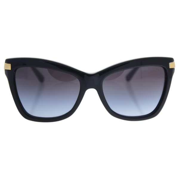 0be19e512b Michael Kors Women MK2027 AUDRINA III 317111 Black Metal Cat Eye Sunglasses