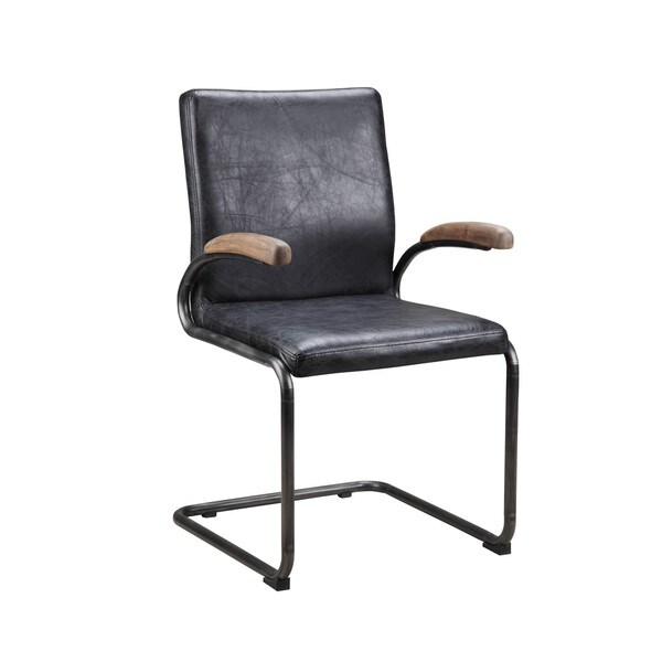 Ordinaire Aurelle Home Industrial Leather Dining Chair (Set Of 2)