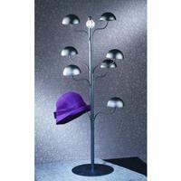 Black Metal Tabletop Hat Stand