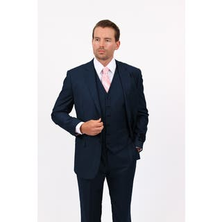 Demantie Men's Navy Rayon Viscose Classic Fit Suit|https://ak1.ostkcdn.com/images/products/13328438/P20032710.jpg?impolicy=medium