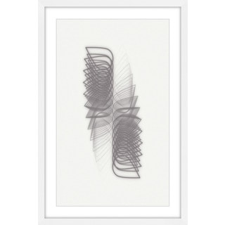 Marmont Hill - 'Geometric Motion' by Bryon White Framed Painting Print