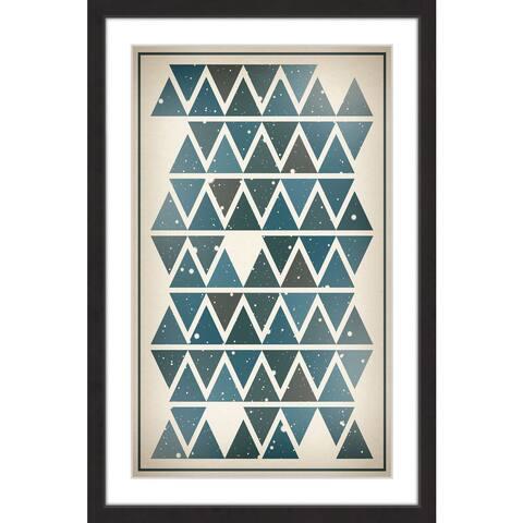 Marmont Hill - Handmade Sky Angles Framed Print