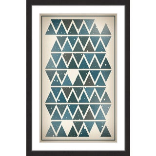 Marmont Hill - 'Sky Angles' by Bryon White Framed Painting Print