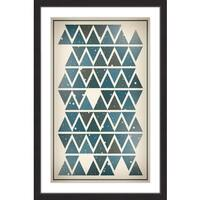 Marmont Hill - 'Sky Angles' by Bryon White Framed Painting Print - Multi