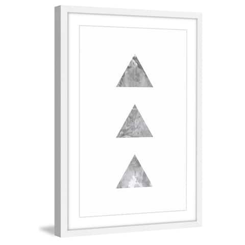 Marmont Hill - Handmade Tri Framed Wall Art Print