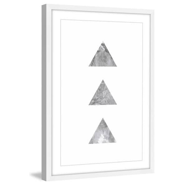 Marmont Hill 'Tri' by Bryon White Framed Wall Art Print