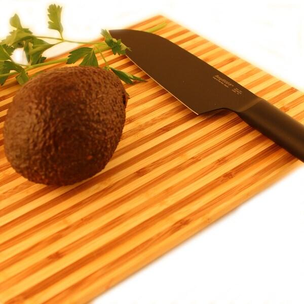 BergHOFF Ron Black 6.25-inch Santoku Knife