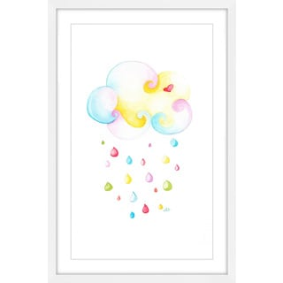 Marmont Hill - 'Candied Cloud 3' by Brilliant Critter Framed Painting Print