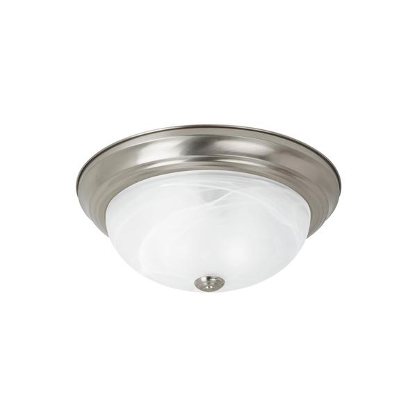 Sea Gull Lighting Reviews: Shop Sea Gull Windgate 3 Light Brushed Nickel Ceiling