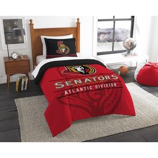 The Northwest Company NHL Ottawa Senators Draft Multicolor Twin 2-piece Comforter Set