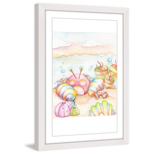 Marmont Hill - 'Under The Sea' by Brilliant Critter Framed Painting Print